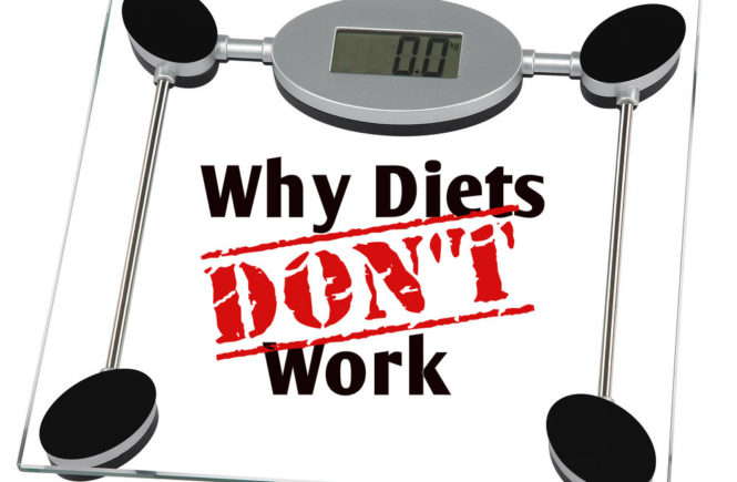 diets dont work - therapy in London
